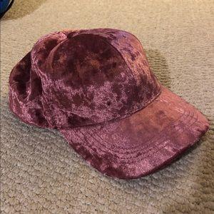 Velvet Pink Dad Hat